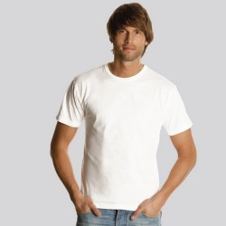 CAMISETA ADULTO BLANCA -KEYA- MC130