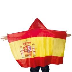 PONCHO BANDERA ESPANOLA